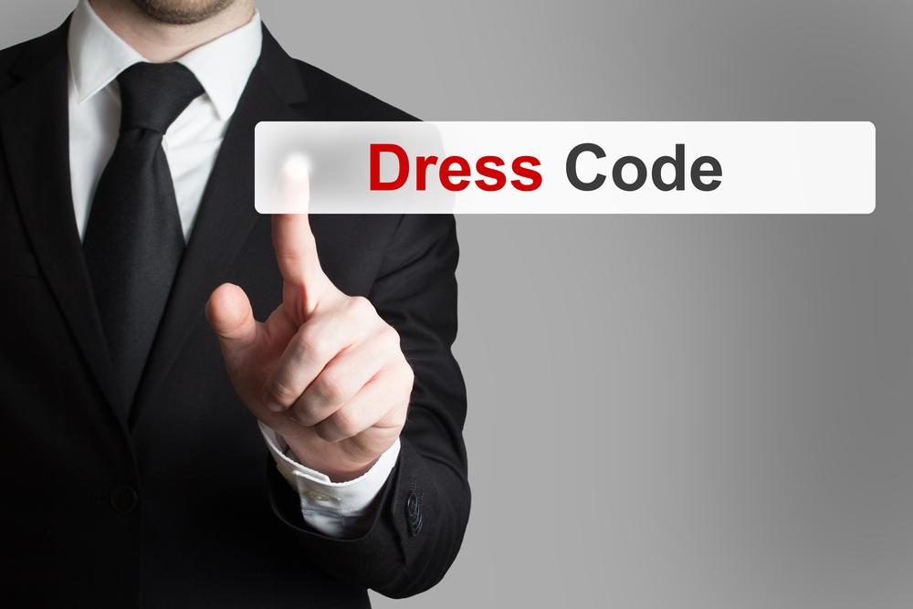 Klädkoder för män och kvinnor