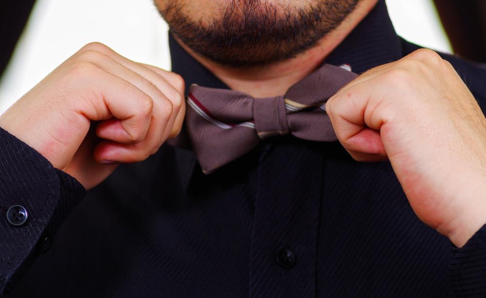 Fluga istället för slips?